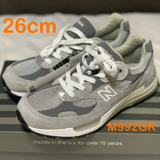 ニューバランス(New Balance)の26cm【新品未使用】【正規品】new balance M992GR (スニーカー)