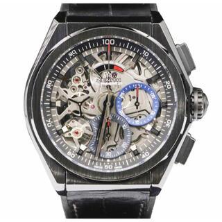 ゼニス(ZENITH)のゼニス ZENITH デファイ エル・プリメロ 21 自動巻き腕時計 セラミック(腕時計(アナログ))