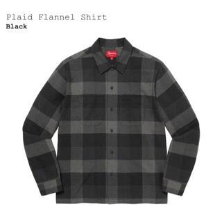 Supreme - Mサイズ Supreme Plaid Flannel Shirt Black