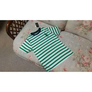 ラルフローレン(Ralph Lauren)の新品☆ラルフローレン ボーダー Tシャツ 140  グリーン(Tシャツ/カットソー)