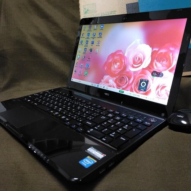 NEC(エヌイーシー)の高スペック/爆速4コア i7/高速SSD/メモリ16GB/美品/ノートパソコン スマホ/家電/カメラのPC/タブレット(ノートPC)の商品写真
