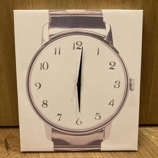 Francfranc - ジャンク品【Francfranc】キャンバスアート クロック 掛け時計