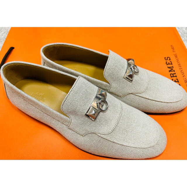 Hermes(エルメス)の(新品)新作 エルメス メンズ シューズ 靴 42.5 モカシン  ブレーズ メンズの靴/シューズ(ドレス/ビジネス)の商品写真