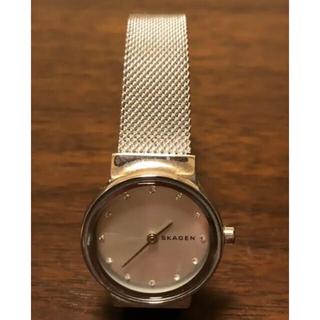 スカーゲン(SKAGEN)の【美品】SKAGEN スカーゲン 腕時計 レディース(腕時計)