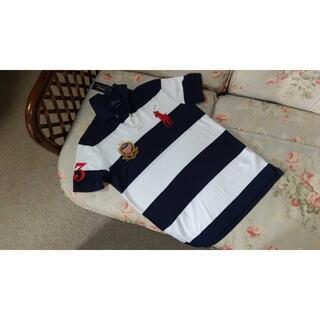 ラルフローレン(Ralph Lauren)の新品☆ラルフローレン ポロシャツ ボーダー US XL(ポロシャツ)