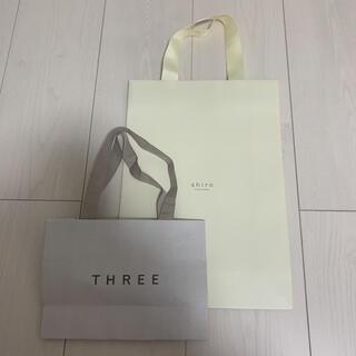 コーチ(COACH)のshiro THREE ショッパー 紙袋 2枚セット(ショップ袋)