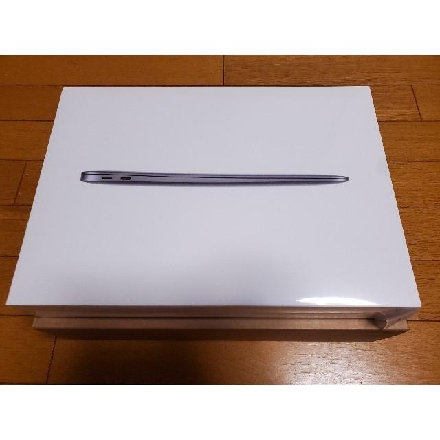 Mac (Apple)(マック)の【新品未使用】MacBook Air 2020 M1 512GB スペースグレイ スマホ/家電/カメラのPC/タブレット(ノートPC)の商品写真