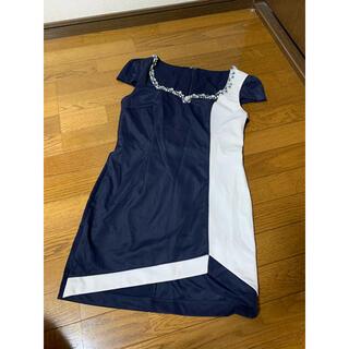 JEWELS - 超美品♡JEWELS バイカラー キャバドレス(ミニドレス ナイトドレス