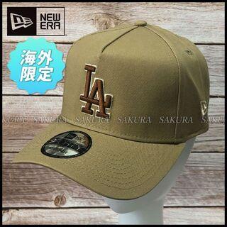 ニューエラー(NEW ERA)の【ユニセックス】ニューエラ A-Frame キャップ 帽子(584360)(キャップ)