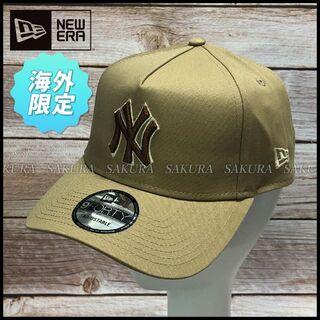 ニューエラー(NEW ERA)の【ユニセックス】ニューエラ A-Frame キャップ 帽子(584261)(キャップ)