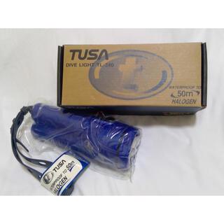 ツサ(TUSA)のTUSA ダイビングライト 【新品・未使用】(マリン/スイミング)
