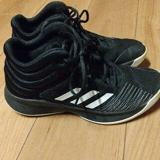 adidas - adidas アディダス バッシュ バスケットボール キッズ 子供 25cm