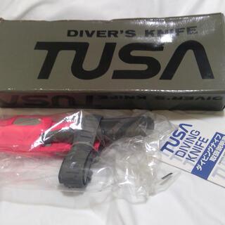 ツサ(TUSA)のgomosukesan 様専用 TUSA ダイビングナイフ 【新品・未使用】(マリン/スイミング)