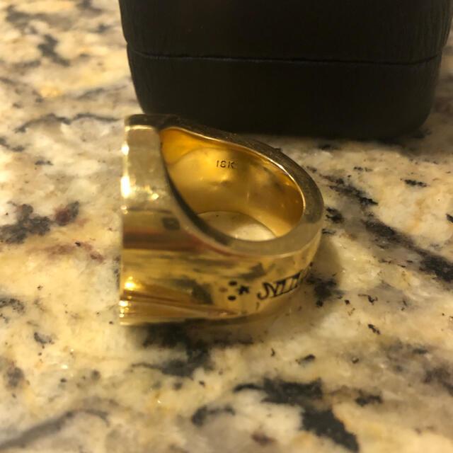 TENDERLOIN(テンダーロイン)のbutcher様専用 18K テンダーロイン ホースシューリング 13号 正規品 メンズのアクセサリー(リング(指輪))の商品写真