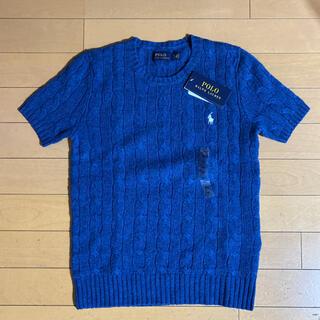 POLO RALPH LAUREN - 新品タグつき ラルフローレン ウール半袖セーター XS