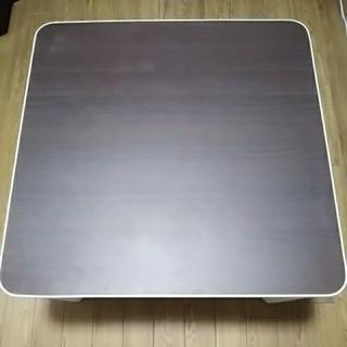 ニトリ(ニトリ)のニトリ こたつ リバーシブルコタツ ローテーブル 正方形(こたつ)