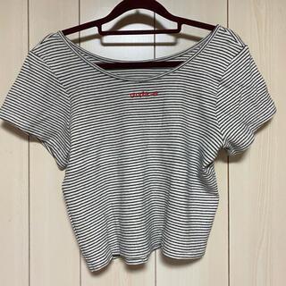 カスタネ(Kastane)のカスタネ  ボーダーtシャツ(Tシャツ(半袖/袖なし))