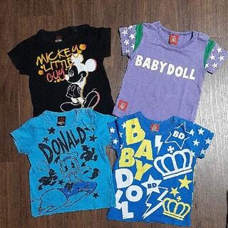 ベビードール(BABYDOLL)の90 4枚セット BABY DOLL(Tシャツ/カットソー)