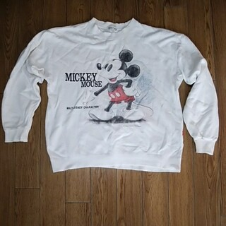 Disney - ディズニー ミッキーマウス ヴィンテージトレーナー 古着 90s