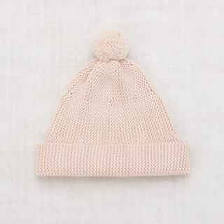 Misha puff Garter Hat dune 2-4y