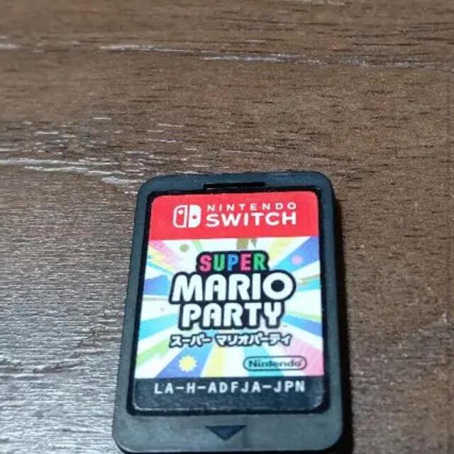 Nintendo Switch(ニンテンドースイッチ)のマリオパーティー Switch エンタメ/ホビーのゲームソフト/ゲーム機本体(家庭用ゲームソフト)の商品写真