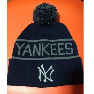 ニューエラー(NEW ERA)のニューヨークヤンキース NY ニット帽  野球 メジャーリーグ(ニット帽/ビーニー)