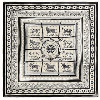 Hermes - エルメス カシシル カシミアシルク 140