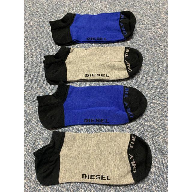 ★大特価★ 薄手DIESEL/靴下 4足 メンズのレッグウェア(ソックス)の商品写真