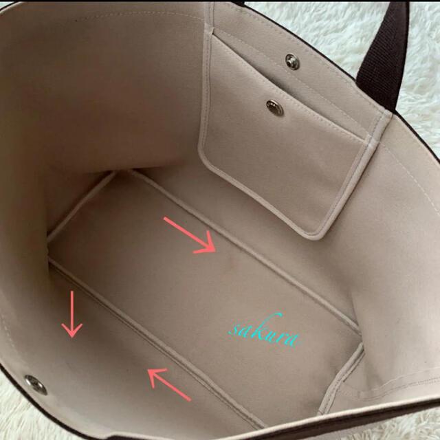 Herve Chapelier(エルベシャプリエ)のエルベシャプリエ Herve Chapelier 705GP マスティック×モカ レディースのバッグ(トートバッグ)の商品写真