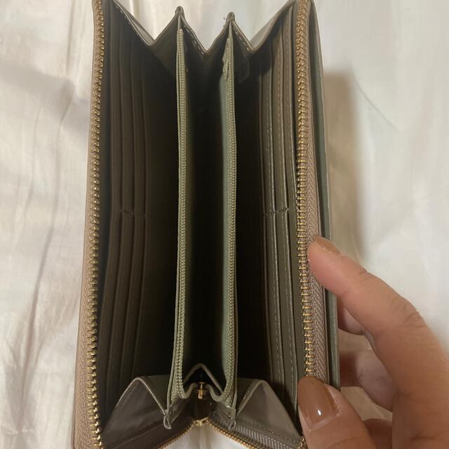 Legato Largo(レガートラルゴ)のLegato Largo 財布 グレーベージュ レディースのファッション小物(財布)の商品写真