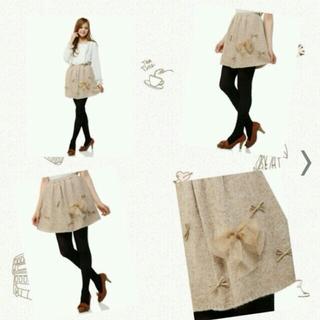 ニーナミュウ(Nina mew)のニーナミュウ♪りぼんスカート♪(ひざ丈スカート)