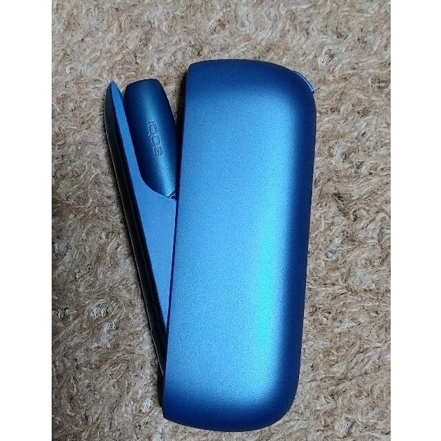 IQOS(アイコス)のIQOS3 DUO アイコス3 デュオ  限定カラー アクアブルー メンズのファッション小物(タバコグッズ)の商品写真