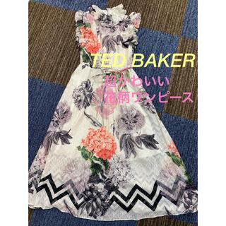 TED BAKER - ⭐️超かわいい⭐️テッドベイカーTED BAKER 花柄ワンピース サイズ1