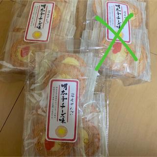 明太子チーズ味 海老せんべい 3袋セット