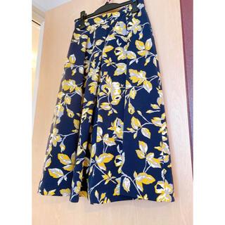 Spick and Span - 美品  Spick & Span スピックアンドスパン フラワープリントスカート