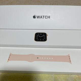 Apple Watch - Apple Watch SE ピンク 40 mm GPS モデル