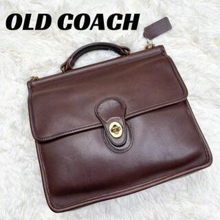 Wendy's & foot the coacher - 【良品】COACH オールドコーチ ハンドバッグ レザー ブラウン 9927