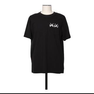 sacai - sacai x KAWS / Embroidery T-Shirt BLACK