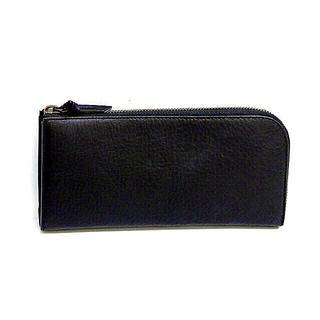 ムジルシリョウヒン(MUJI (無印良品))のMUJI 新品 ウォレット  ヌメシュリンク革 ファスナー長財布 (財布)