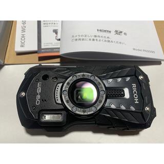 RICOH - リコー タフネスカメラ WG-60 BK