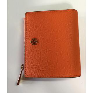 トリーバーチ(Tory Burch)のトリーバーチ 財布 ミニ財布 カード オレンジ ロビンソン エマソン(財布)