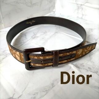 クリスチャンディオール(Christian Dior)の★美品 Christian Dior ビンテージベルトトロッター柄 (ベルト)