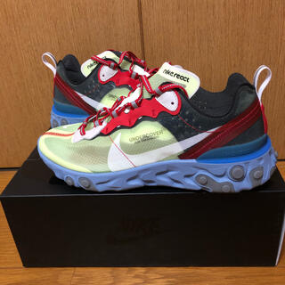 UNDERCOVER - 美品NIKE×UNDERCOVER REACT ELEMENT 87 US8.5