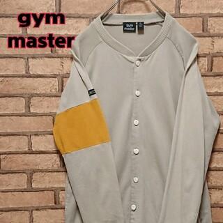ジムマスター(GYM MASTER)のgym master ジムマスター 袖ロゴタグ メンズ カーディガン(カーディガン)