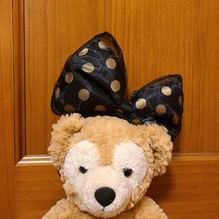Disney - <10/2まで!>ディズニー ミニーマウス リボンカチューシャ 黒