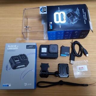 GoPro - GoPro HERO 8 BLACK + SDカード、スリーブ、ランヤード