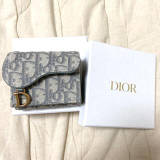ディオール(Dior)のdior SADDLE コンパクトウォレット(財布)
