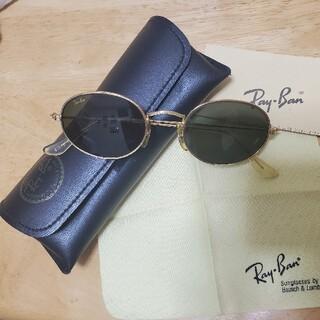 レイバン(Ray-Ban)のレイバンB&LW0976クラシックオーバルゴールド(サングラス/メガネ)