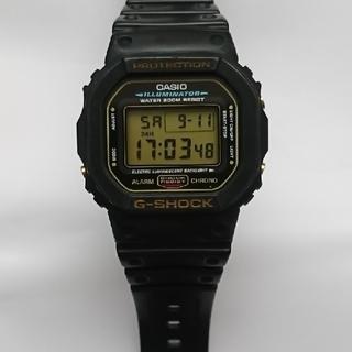 G-SHOCK - カシオ G-SHOCK DW-5600E(ゴールド)
