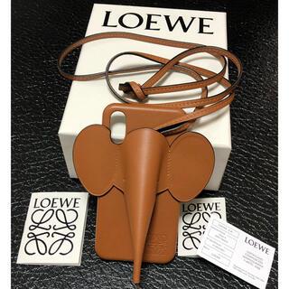 ロエベ(LOEWE)のLOEWE 正規品 iPhone x xs ケース(iPhoneケース)